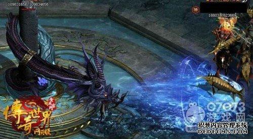 传奇世界网页版萌新玩家称霸全区的秘密